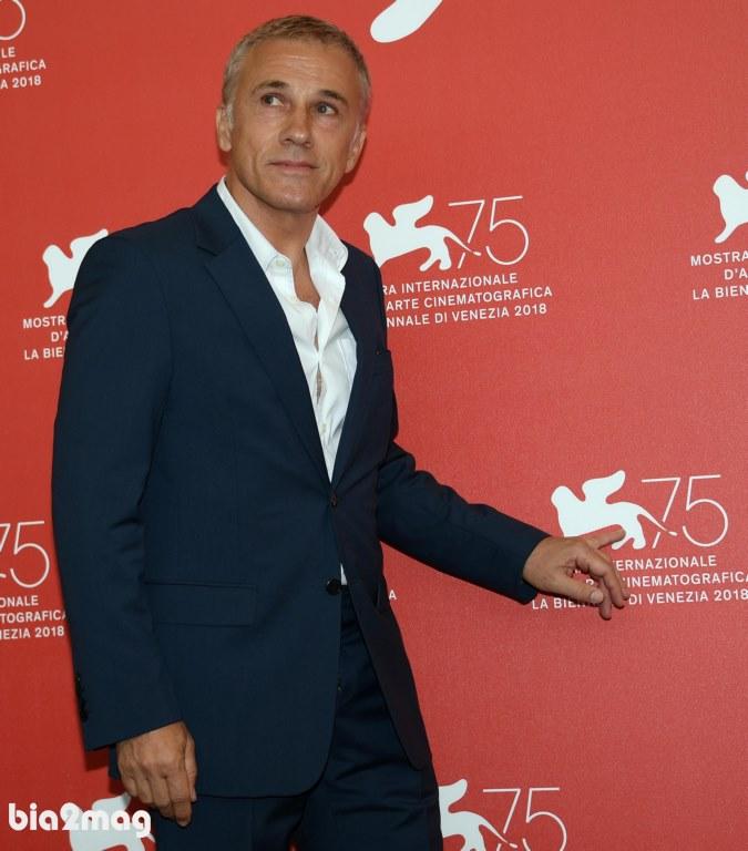 کریستوف والتز - جشنواره فیلم ونیز 2018