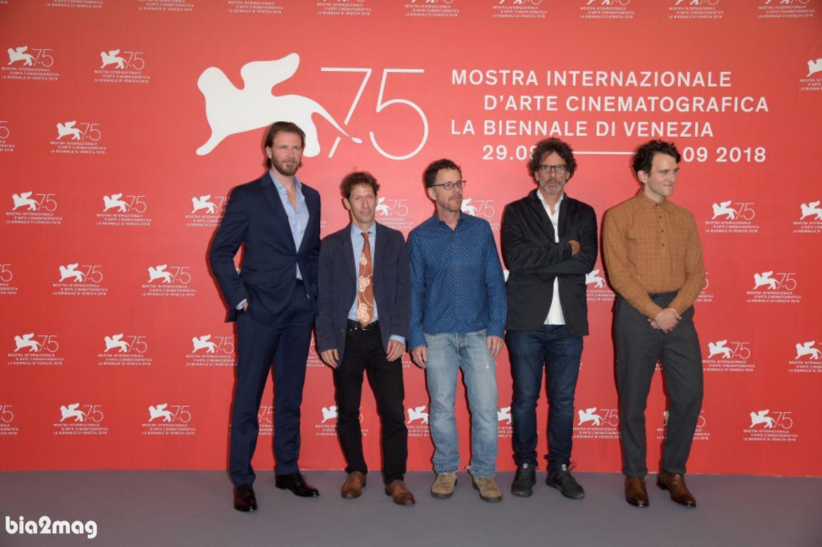 هری ملینگ، بیل هک، تیم بلیک نلسون، ایتان کوهن و جوئل کوهن - جشنواره فیلم ونیز 2018