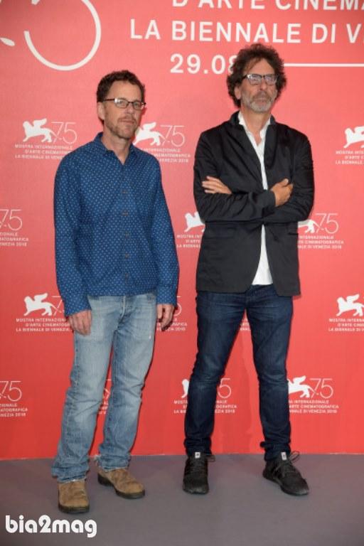 ایتان و جوئل کوئن - جشنواره فیلم ونیز 2018