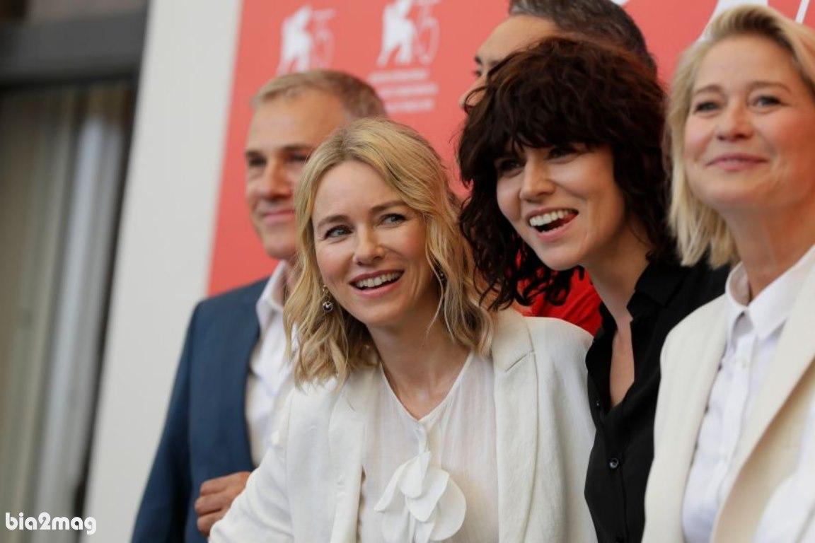 ترینی دیرهولم، مالگورزاتا شوموفسکا و نائومی واتس - جشنواره فیلم ونیز 2018