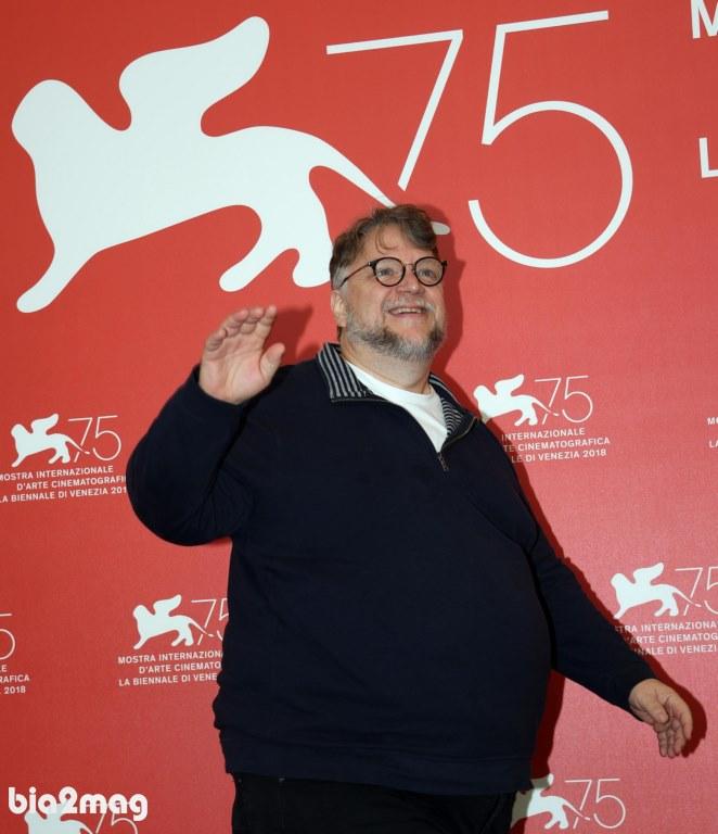 گیلرمو دل تورو - جشنواره فیلم ونیز 2018