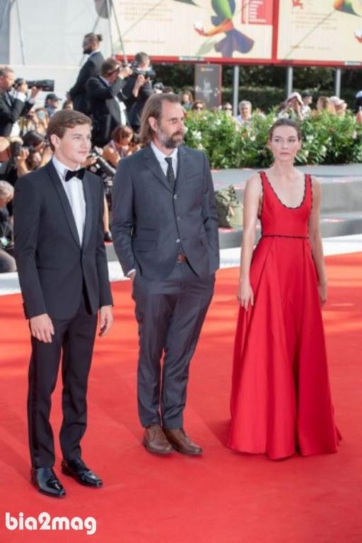 هانا گراس، ریک آلورسون و تای شریدان - جشنواره فیلم ونیز 2018