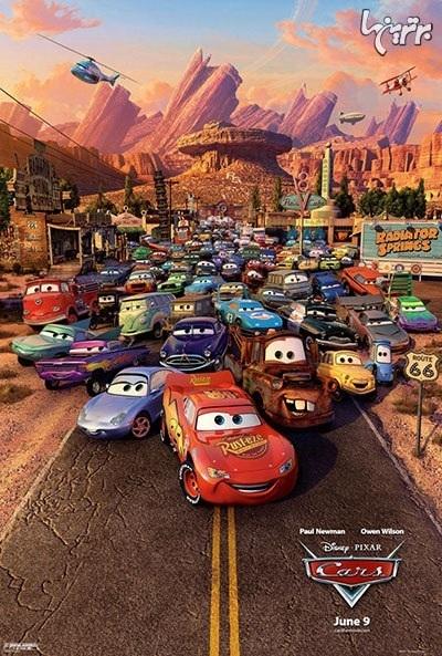 ۱۰ فیلم برتر بر اساس خودرو